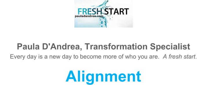 Fresh Start Alignment
