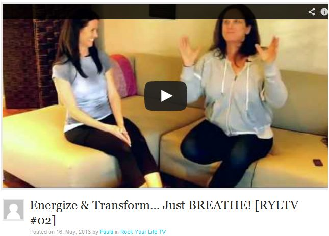 Energize & Transform….. Just Breathe!  [RYL TV Episode #2]