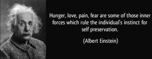 Einstein - Self Preservation