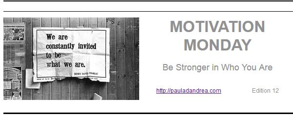 Motivation Monday Header