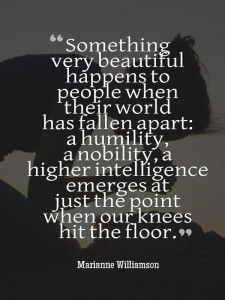 knees hit floor marianne wmson