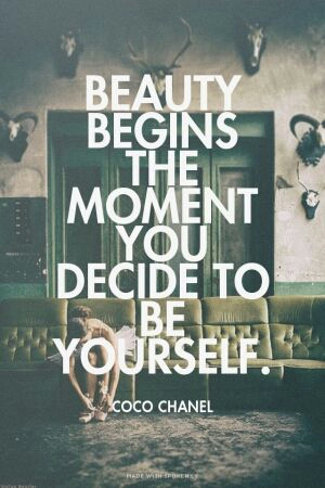 Beauty - Coco Chanel